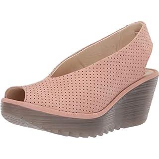 Fly London Women's YAZU736FLY Sling Back Heels, (Nude Pink 030), 6 (39 EU)
