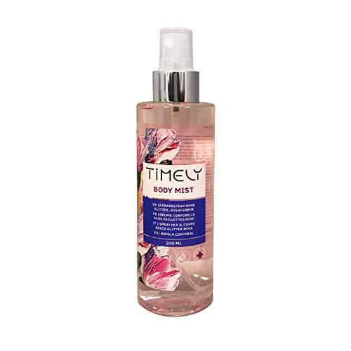 Timely - Brume pour le corps au parfum sensuel, 200ml