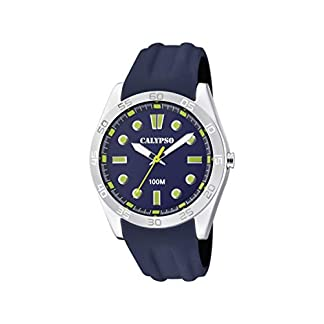 Calypso Watches Reloj Analógico para Unisex Adultos de Cuarzo con Correa en Plástico K5763/6