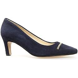 Van Dal , Damen Knöchel-Riemchen , Blau - Dunkelblau - Größe: 37.5