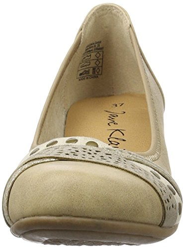 Jane Klain Ladies 223 757 Ballerine Chiuse Marrone (cognac)