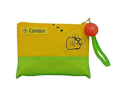 Bag to Life Trousse à cosmétiques Condor Cosmetic on Tour unique Culture upcycling de poche en d'une Gilet de sauvetage