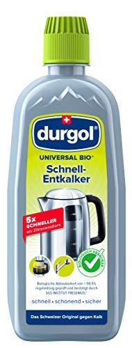 durgol universal bio Schnell-Entkalker - Ökologischer Kalkentferner für alle Haushaltsgeräte - Deutsche Version - 1 x 500ml