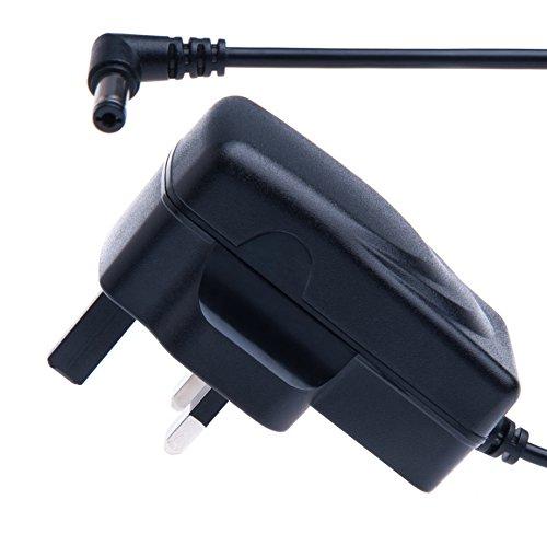 9V 1A Fuente de alimentación adaptador por Keple | Cable de alimentación para Roberts CRD-37DAB Radio/Zoom G1X on efectos/Roberts PU609PSU Parte/Electro-Harmonix Bass Big Muff Pi/Behringer CL9DC9DR400/Jim Dunlop Crybaby–Pedal de Efectos | AC DC adaptador de repuesto (2m/6.6ft)