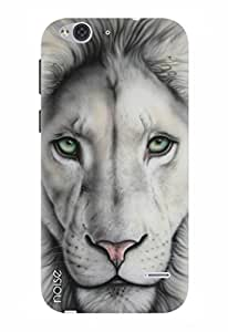 Noise Designer Printed Case / Cover for Lyf Water 2 / Animated Cartoons / White Lion Design