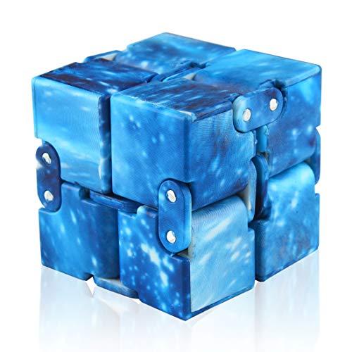 Andux Infinity Cube Fidget Toy Riduzione dello stress Giocattoli divertenti da dito JYMF-01 (#10)