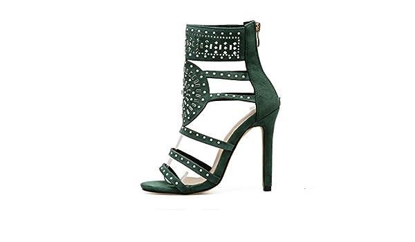 de8417580e2774 Vectry High Heels Sandalen Plateau Sandalen Damen Riemchen Offene Schuhe  Stiefeletten SchnüRen Stiefel Bequem Plato Absatzschuhe