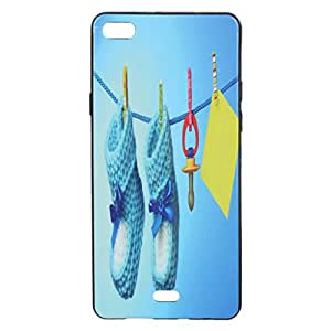 BKDT Marketing Premium Printed Soft Back cover for Micromax Canvas Silver 5 Q450