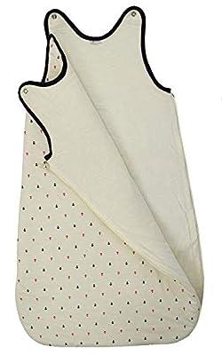 Saco de Dormir para bebé Bordado con EL Nombre del BEBÉ. Varios Modelos y Tallas Disponibles