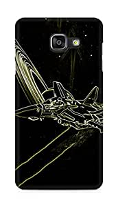 Amez designer printed 3d premium high quality back case cover for Samsung Galaxy A5 (2016 EDITION) (Abstract 22)