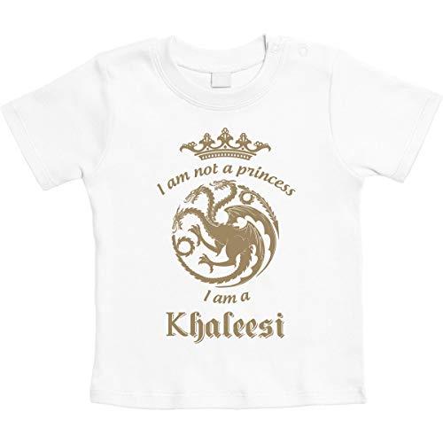 Sono Khaleesi Regina dei Draghi, Regalo Piccole Fans Maglietta Neonato...