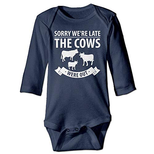 Cow Nuts Lates Long Sleeves Neugeborenes Baby Spezielle Baby Klettern Kleidung Größenschlüssel