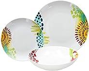 Tognana ME070185583 Servizio tavola 18 Pezzi Mali, Porcellana