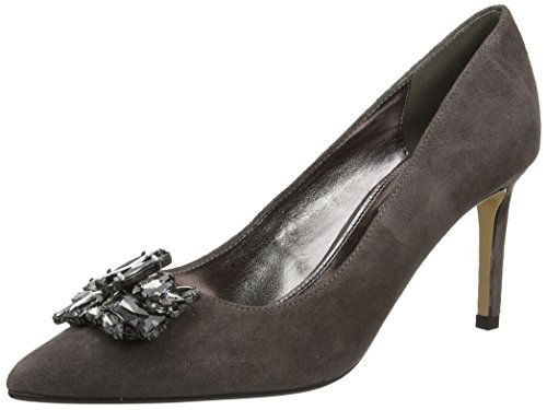 Dune Damen Birch Pumps, Grau, 39 EU