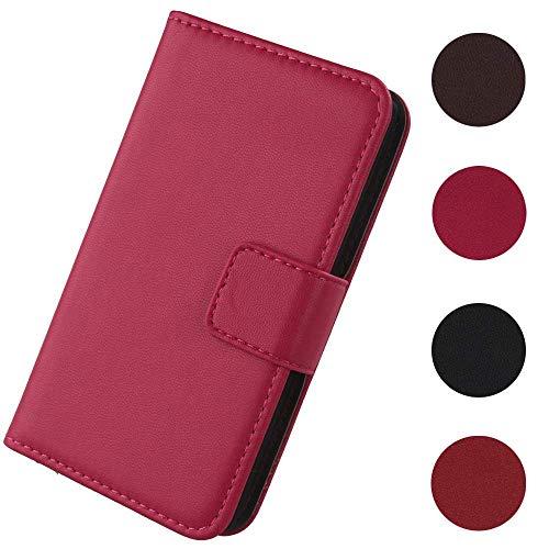Lankashi Flip Premium Echt Leder Tasche Hülle Für Doogee S60 / S60 Lite 5.2