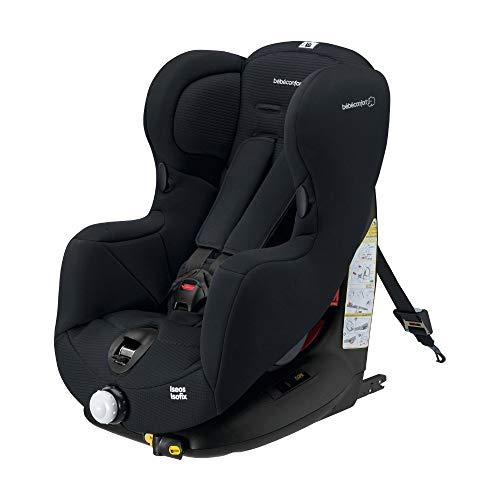 Bébé Confort ISÉOS ISOFIX 'Total Black' - Silla para el coche para niños, ISOFIX, desde los 9 meses hasta los 4 años, grupo 1, 9-18 kg,color negro