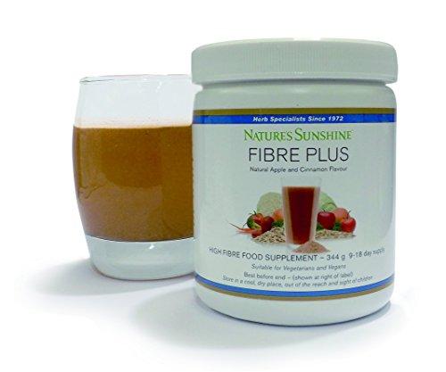 Fibre Plus 344g - Apple & Cinnamon Flavour - High Fibre Drink Mix -