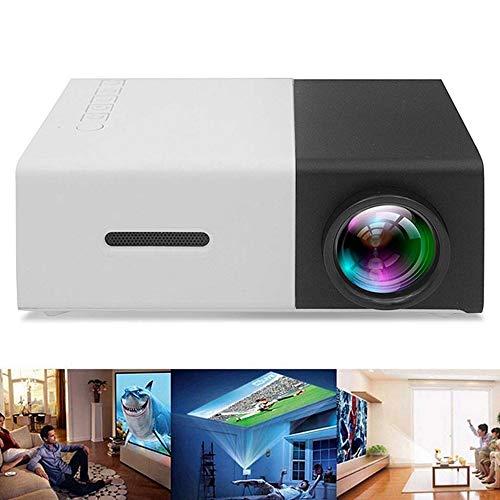 (KAIDILA YG300 Mini Portable Projektor LCD Beamer HDMI USB AV SD 400-600 Lumen Theater Kinder Bildung Beamer)