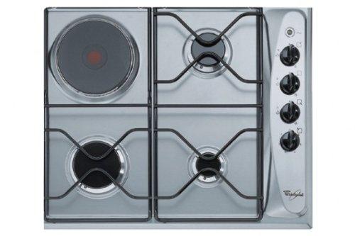 Whirlpool AKM261IX plaque - plaques (Intégré, Gas/Electric, electric induction, Acier inoxydable, Acier inoxydable, Rotatif, 560 x 480 x 30 mm)