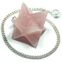 "Rose Quartz Merkaba Pendulum (1/2"" - 1"") - 1pc. by Healing Crystals preisvergleich bei billige-tabletten.eu"