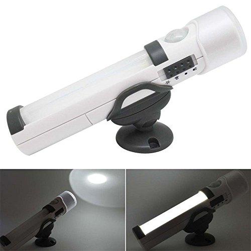 efanr tragbar Bewegungsmelder Taschenlampe Notfall Nachtlicht mit LED Taschenlampe muti-function Sicherheit Wandleuchte Beleuchtung für Camping Outdoor Zuhause Küche Korridor