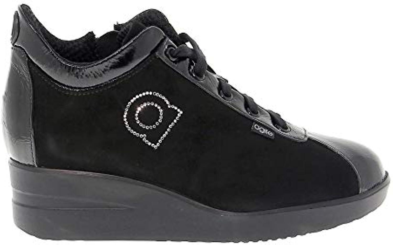 Ruco Line scarpe da ginnastica Donna RUCO226CN RUCO226CN RUCO226CN Camoscio Nero | La qualità prima  2ba018