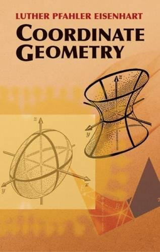 Pdf Coordinate Geometry Dover Books On Mathematics Download Ghuytgyy