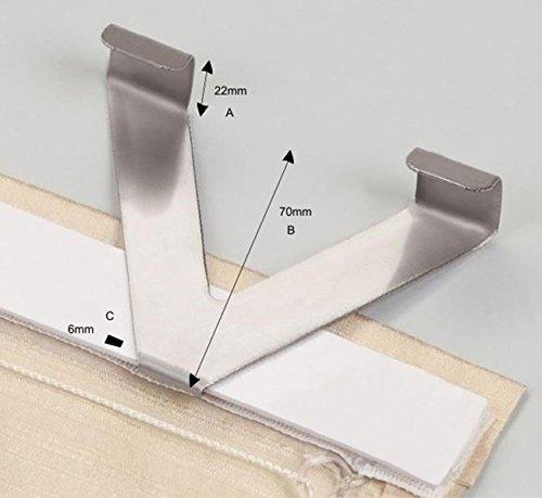 Klemmstange Scheibenstange Easy Click ohne Bohren ohne Werkzeug ausziehbar