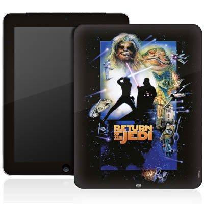 Apple iPad 1 Aufkleber Schutz Folie Design Sticker Skin Star Wars Merchandise Fanartikel Return Of The Jedi
