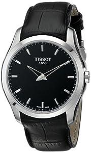 Tissot-Reloj de pulsera analógico cuarzo piel t035.446.16.051.00 de Tissot