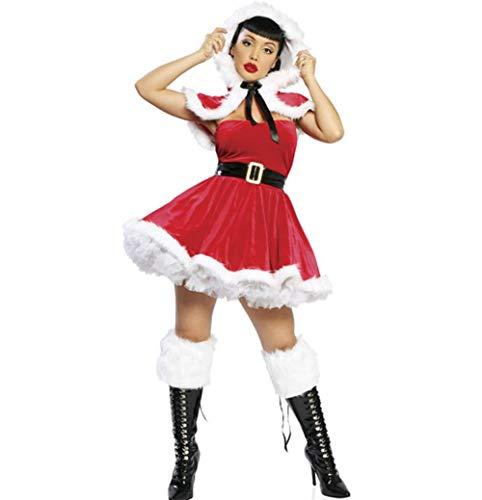 Fräulein Santa Adult Classic Kostüm Weihnachten Supplies