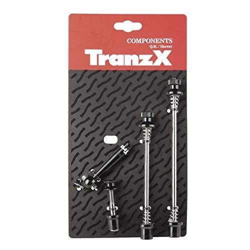 Tranz X Schnellspanner-Set mit Spezialschlüssel als Diebstahlschutz