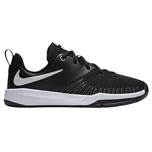 Nike Team Hustle D 7 Low (Gs), Scarpe da Basket Uomo Blanco (Black / White)