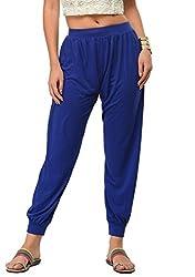 Frenchtrendz Women Harem Pants (Ink Blue, XXX-Large)