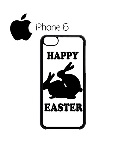 Happy Easter Rabbit Sex Swag Mobile Phone Case Back Cover Hülle Weiß Schwarz for iPhone 6 White Schwarz