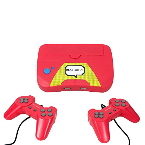 Mitashi Game In Champ Gaming Console, Red