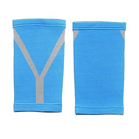 Liying Neu Wadenbandage Kompressionsstrümpfe Bandage Blau