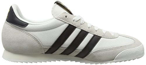 adidas Uomo Dragon scarpe sportive Bianco (Vintage White/Core Black/Off White)