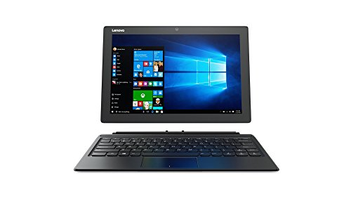 Lenovo MIIX 510 30,99cm (12,2 Zoll Full HD IPS) Tablet-PC (Intel Core i5-7200U, 4GB RAM, 128GB SSD, Intel HD Grafik 620, Windows 10) silber inkl. Tastatur