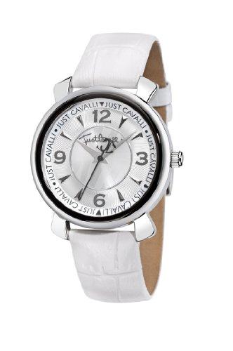 Morton R7251179615 - Reloj para mujer de cuero Resistente al agua plata
