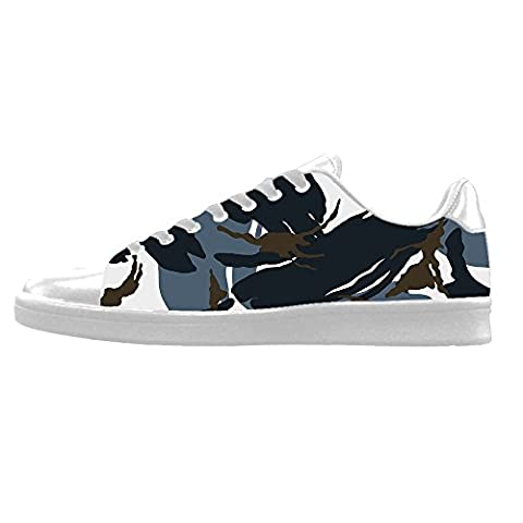 Custom Camouflage Men's Canvas shoes Schuhe Lace-up High-top Sneakers Segeltuchschuhe Leinwand-Schuh-Turnschuhe