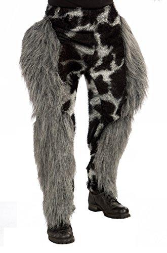 Monster Kostüm Furry - Furry Kostüm Monster Hose Erwachsene One Size passend für die meisten