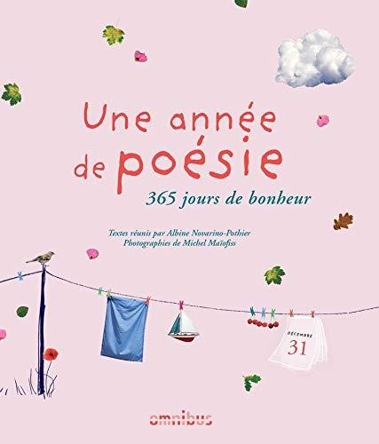 Une année de poésie (Rééd.) par Albine NOVARINO-POTHIER