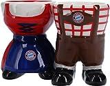 FC Bayern München Eierbecher Tracht 2er Set 7,5 x 5,5 cm
