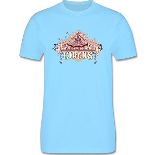 Statement Shirts - Circus - Herren Premium T-Shirt Hellblau