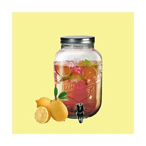 3.5Lt Glass Drink Beverage Dispenser Jar by OTB
