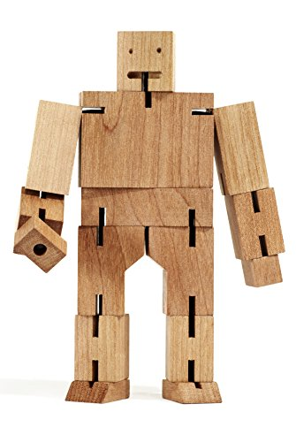 Roboter,Spielzeug,Holz,Cubebot