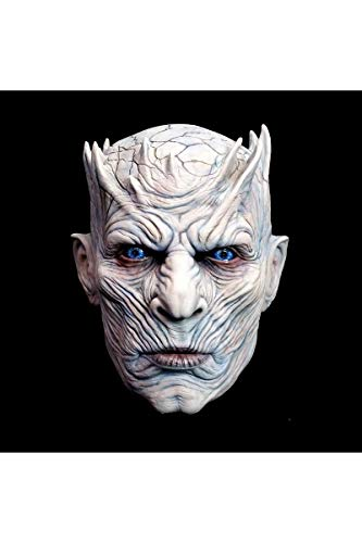 Mahal796 Latexmaske für Erwachsene, Motiv Night 'S King - Game of Thrones - Einheitsgröße (Game Of Thrones Kostüm Details)