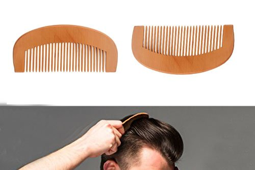 Special Gift at Fathers Day Wooden Comb,No Static Wooden Natural Detangler Comb,Wood Prevent Hair Loss Wooden Healthy Comb