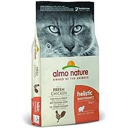 Almo Nature Holistic Maintenance Trockenfutter für Katzen mit frischem Huhn 12Kg